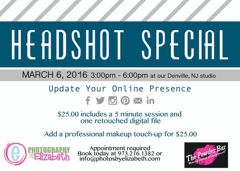 Headshot special